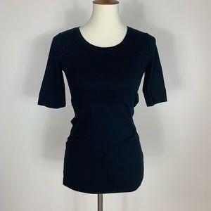 Gap Maternity | Black Top Pima Cotton Modal Blend